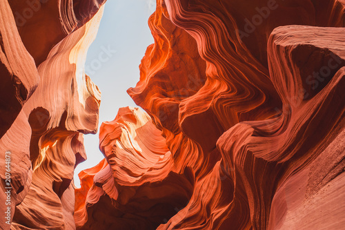 Foto Unbelievable Antelope Canyon in the US