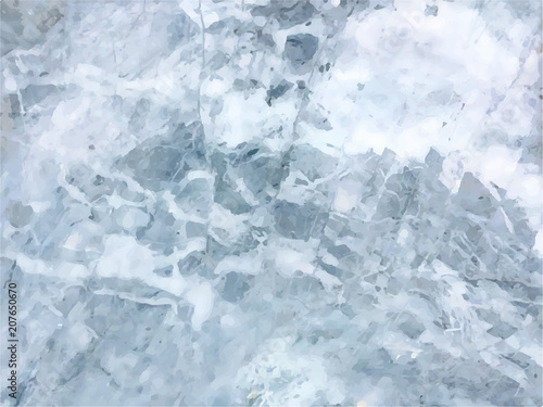 Canvas Prints Marble Vector marble background. White marble texture. Template for des