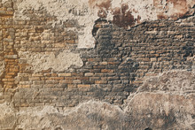 Old Brick Wall In Venice
