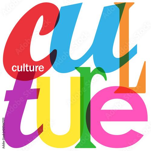 culture icon banner concept word events agenda calendar