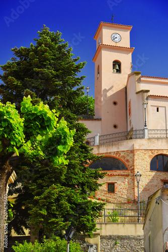 Fotografie, Obraz  The village of Bova in the Province of Reggio Calabria, Italy