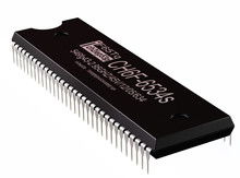 Integrated Circuit Or Micro Chip And New Technologies On Isolated. Computer Parts Controller Artificial Intelligence Component Of Virtual Reality. 3d Rendering Of CMOS.