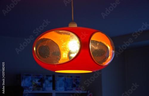 Photographie luigi colani ufo lamp