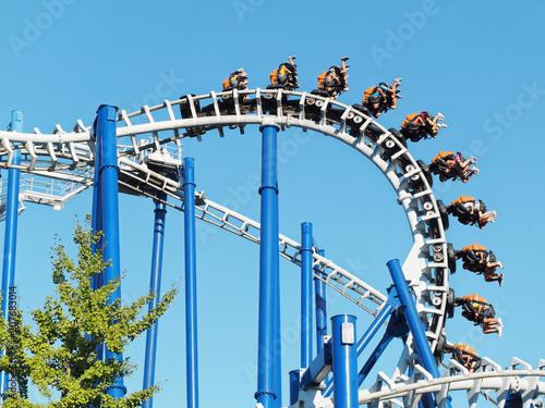 Zdjęcie XXL Park rozrywki do góry nogami rollercoaster fun