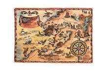 Treasure Map Manually Drawn By...