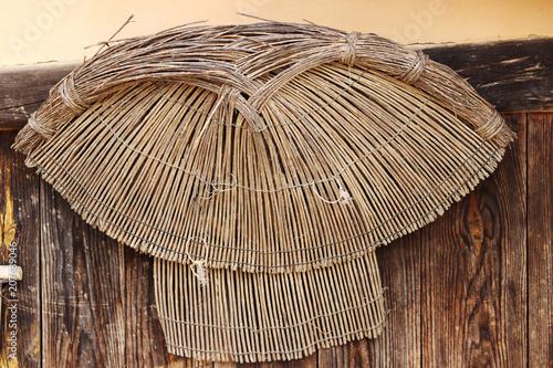 Photo sur Toile Les Textures The landscape of Korean traditional houses.