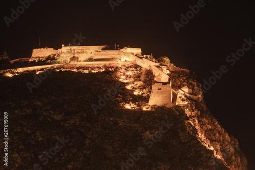 Keuken foto achterwand Historisch geb. Nafplio Palamidi fortress in Peloponnese Greece.