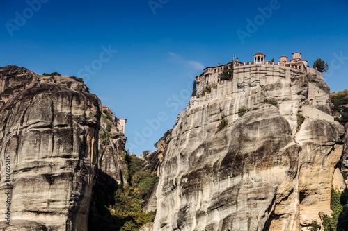 Keuken foto achterwand Historisch geb. Monastery in Meteora, Greece