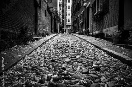 Fototapeta Black and White Street