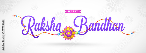 Valokuva  Rakhi, Indian brother and sister festival Raksha Bandhan concept.