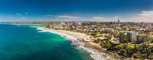 Aerial Panoramic Image Of Ocea...
