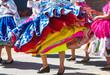 Leinwanddruck Bild - Peruvian dance