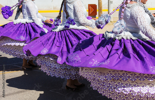 Poster Zuid-Amerika land Peruvian dance
