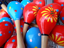 Colorful Maracas For Music