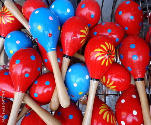 colorful maracas for music buy this stock photo and explore