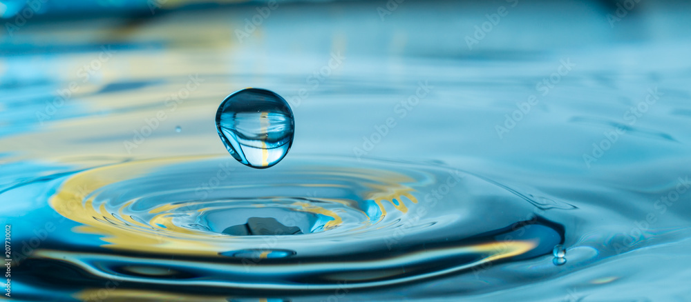 Fototapeta water drop splash