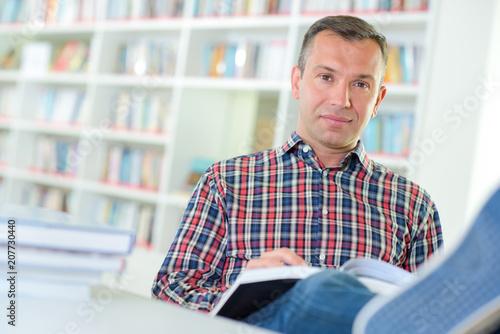 Fototapeta novelist working with a new story