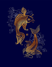 Koi Carp Tatoo