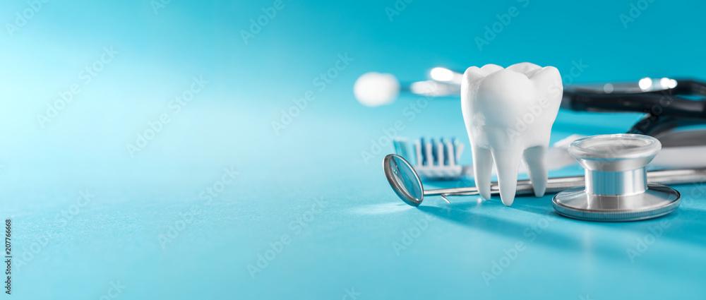 Fotografie, Obraz  Tooth, health, dentistry concept.
