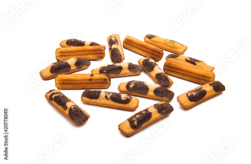 Poster Pays d Asie biscuit sticks isolated