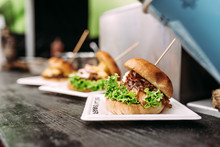 Delicious Burgers. Street Food.