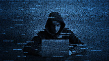Hacker In Data Security Concep...