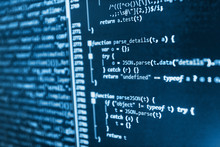 Abstract Computer Script Code....