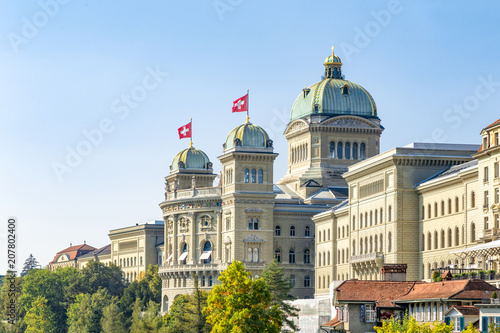 Fotografia  Bundeshaus in Bern, Schweiz