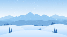 Vector Illustration: Winter Sn...