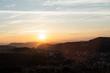 Sunset at brazilian countryside