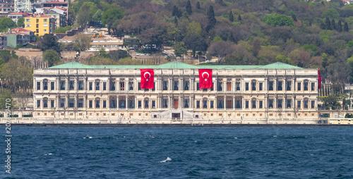 Ciragan Palace in Istanbul City, Turkey Poster