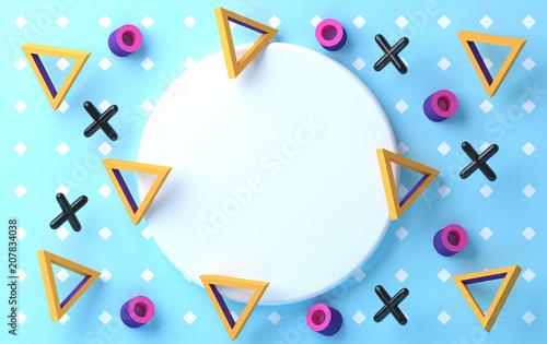 minimalistyczne-abstrakcyjne-tlo-pastelowe-kolory-3d-render-podium-dla-rekla