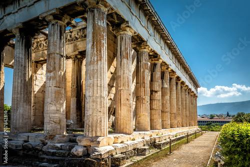 Zdjęcie XXL Świątynia Hefajstosa w Atenach, Grecja