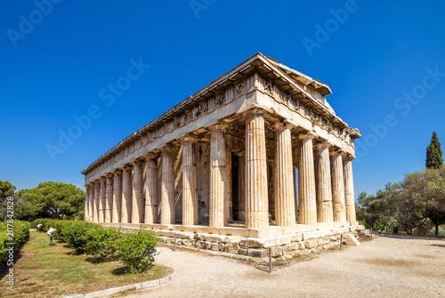 Plakat Świątynia Hefajstosa w Afryce, Ateny, Grecja