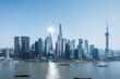 shanghai cityscape of pudong skyline
