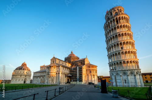 Fotografia, Obraz Leaning Tower of Pisa in Pisa - Italy