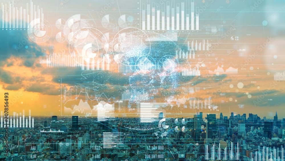 Fototapeta 社会と統計