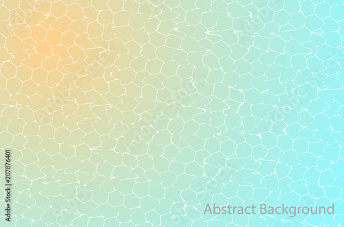 Staande foto Abstractie Art Abstract Background with ripple effect