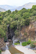 Alcantara Gorges are attractions of Sicily. Located 20 km from Taormina, canyons made of black lava walls up to 50 meters high, in shape of a prism that rocks have taken during cooling process