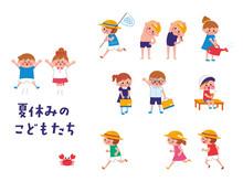 夏休みの子供たち