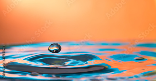 Fotografia, Obraz  water drop splash
