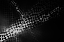 Checkered Abstract Background. Unusual Racing Texture