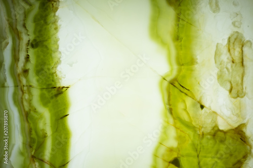 Natural clean onyx background with green colour for your interior.