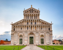 Pisa Cathedral At Piazza Dei M...