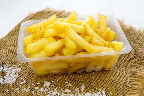 Fototapeta barquette de frites obraz