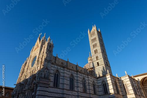 Keuken foto achterwand Historisch geb. Siena Cathedral - Santa Maria Assunta. Tuscany - Italy - Europe