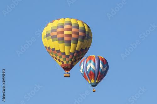 Hot air balloon rides at the Balloon Festival in Temecula, California