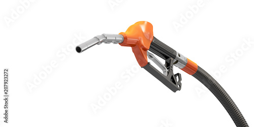Orange gasoline pistol Fototapeta