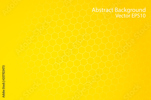 Cadres-photo bureau Art abstrait Honeycomb abstract vector background