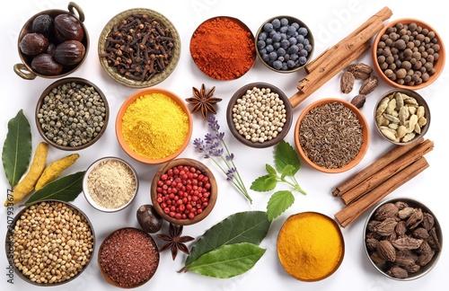 In de dag Kruiden Spices and herbs.